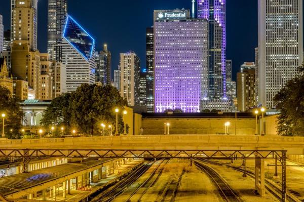La gare de nuit
