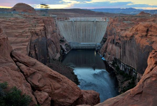 Barrage Glen Canyon