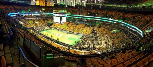 TD Garden, les Celtics