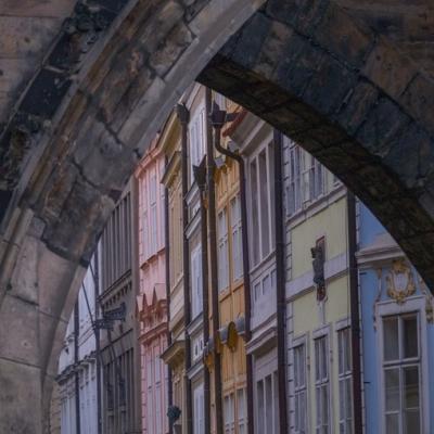 Arche du pont Charles