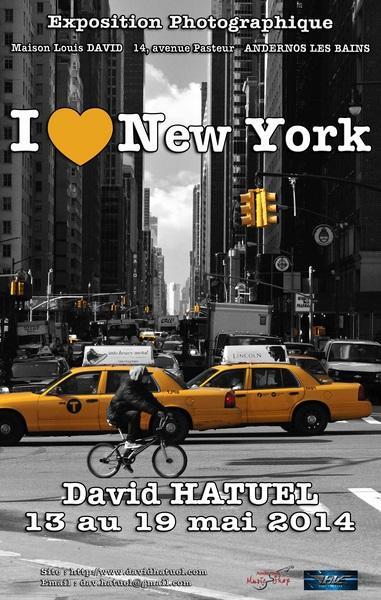 Affiche I love NY 2014