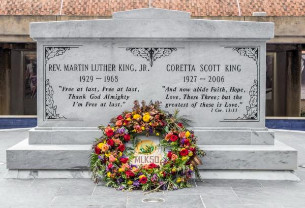Tombe de Martin Luther King