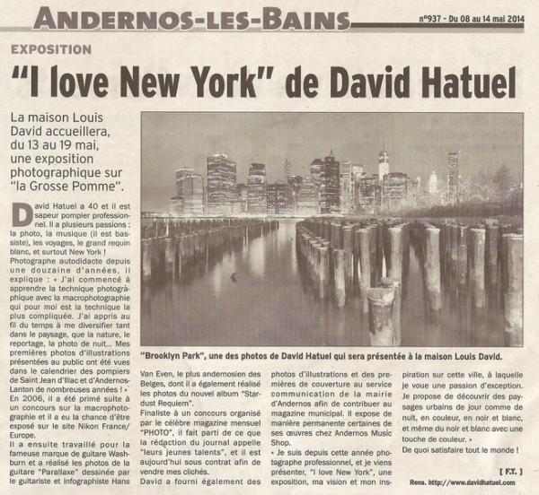 depeche du bassin Expo NYC 2014