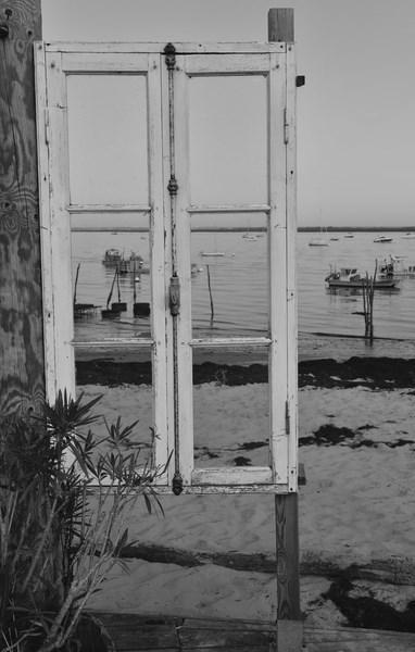 Fenêtre sur le bassin (L'herbe)