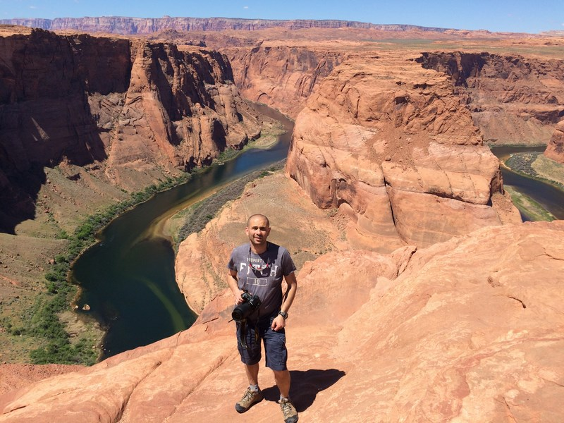 Horse shoe bend (Page USA)
