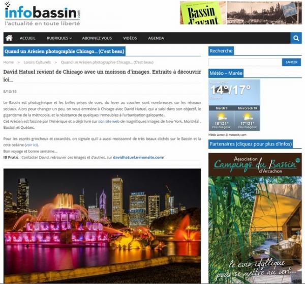 Info Bassin Chicago 2018